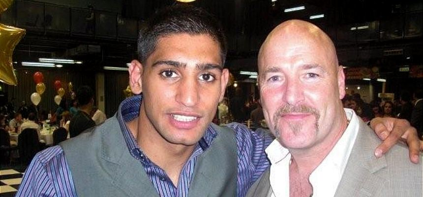 Richard Grimes and Amir Khan