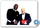 Richard Grimes and Frank Bruno